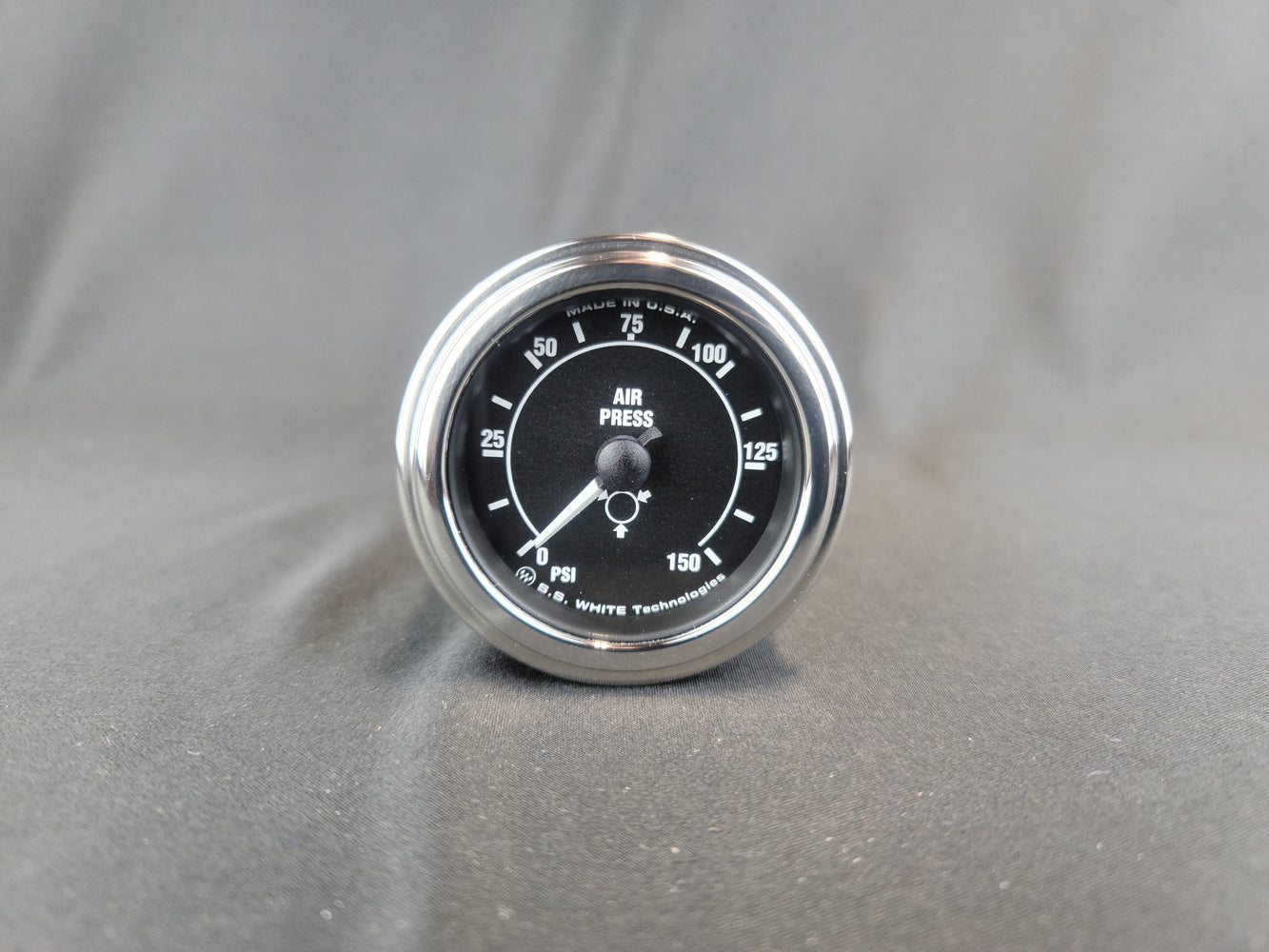 RECORD 2 Inch Air Pressure Gauge 0-150PSI - HG162