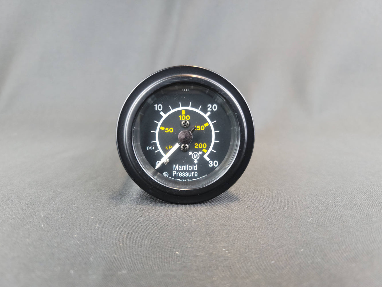 RECORD 2 Inch Manifold Pressure Gauge 0-30psi - HG202