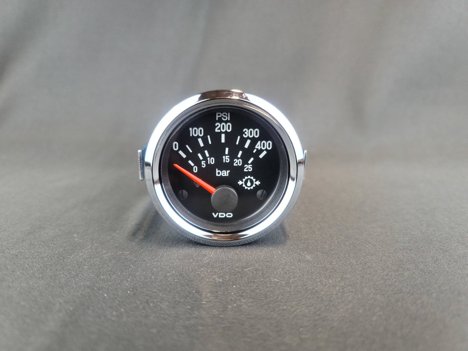 VDO 2 Inch Electronic Air Pressure Gauge 0- 400PSI - 350-9713