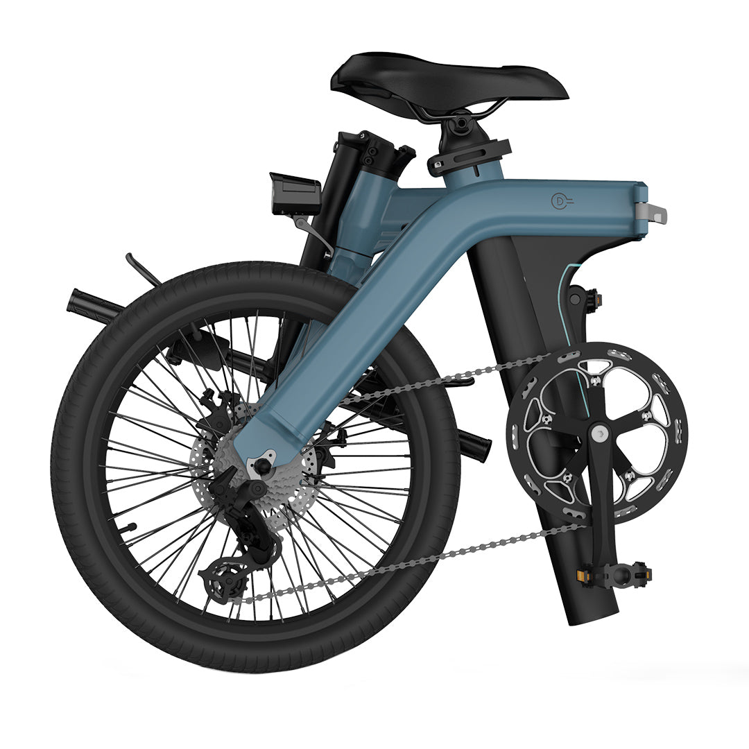 FIIDO D11 Folding Electric Bike 20 Inch Tires 250W Motor 7 Speeds Shift 11.6Ah Lithium Battery