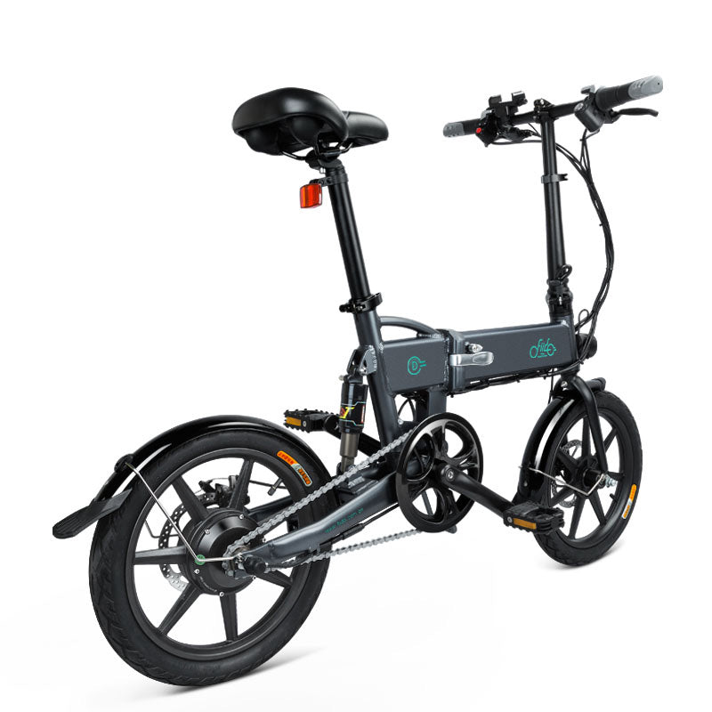 FIIDO D2 Folding Electric Bike 16 Inch Tires 250W Motor 7.8Ah Lithium Battery