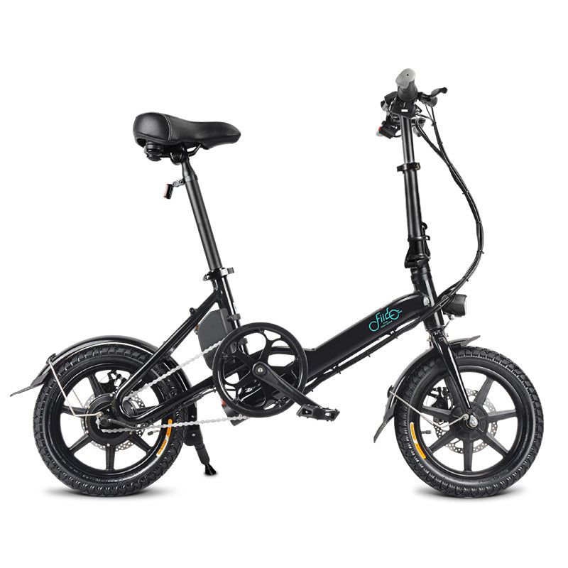 FIIDO D3 Folding Electric Bike 14 Inch Tires 250W Motor 7.8Ah Lithium Battery