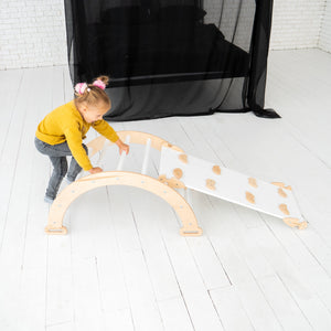 Wood Baby play gym Standartd size 1 Arch and 1 Ramp