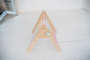 Montessori SET OF 3 ITEMS 1 ARCH + 1 RAMP + 1 TRIANGLE Standard Size