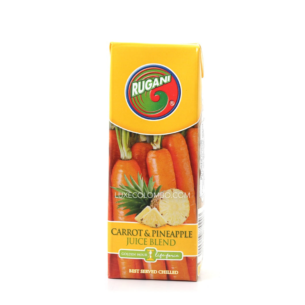 Carrot & Pineapple Juice blend 330ml - Rugani