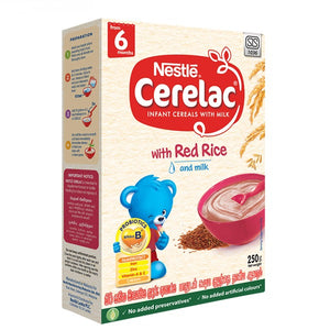 Nestlé Cerelac Red Rice 250g