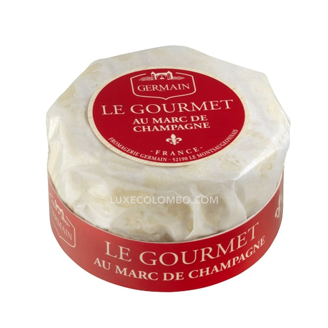 Gourmet Cheese with Marc de Champagne PGI - 100g