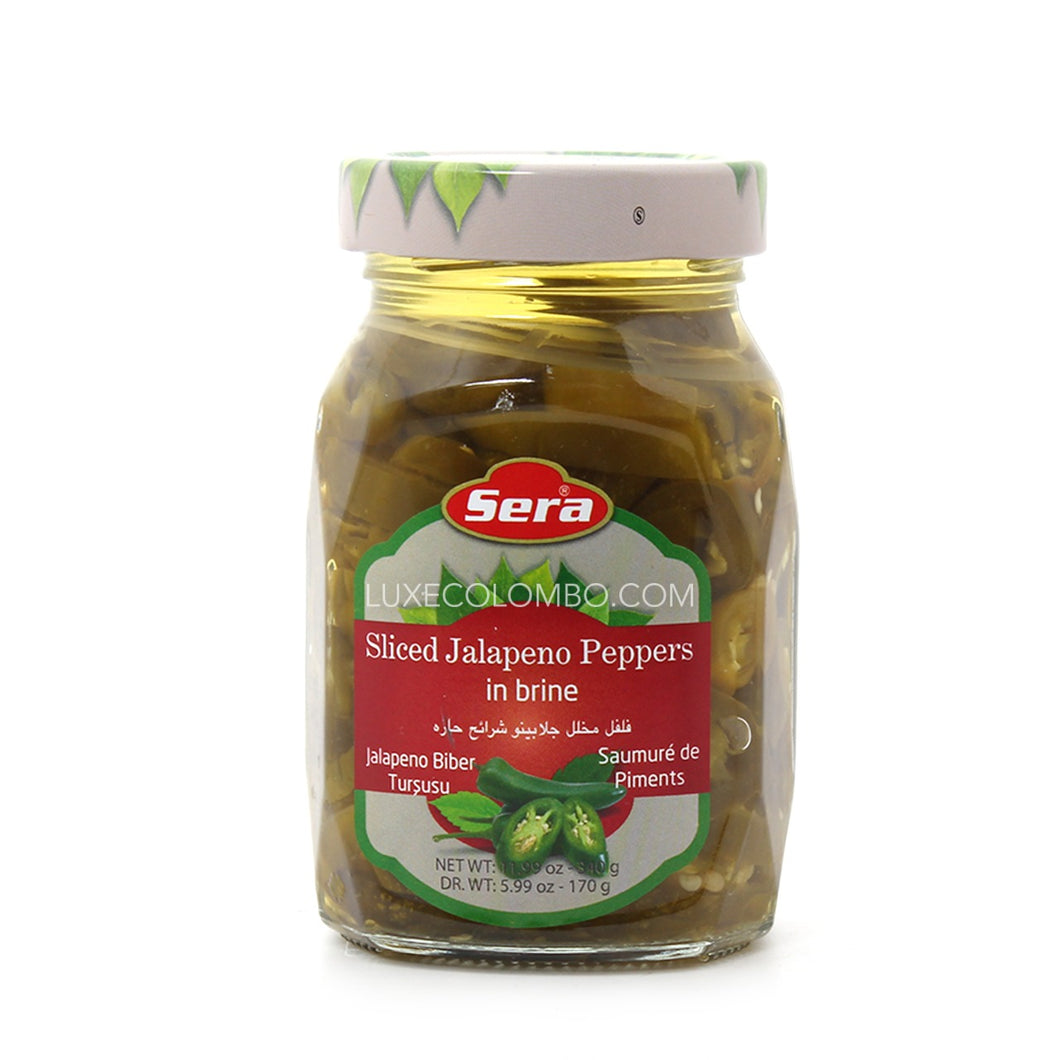 Pickled Jalapeno Peppers 340g - Sera