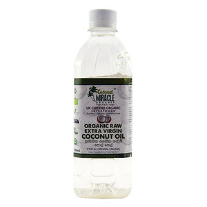 Organic Extra Virgin Coconut Oil 500ml Pet bottle