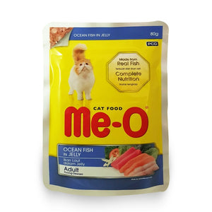 ME-O POUCH CAT FOOD OCEAN FISH JELLY 80g