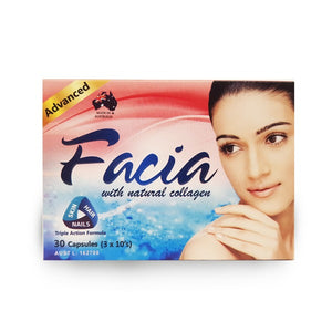 Facia with Natural Collagen 30 capsules