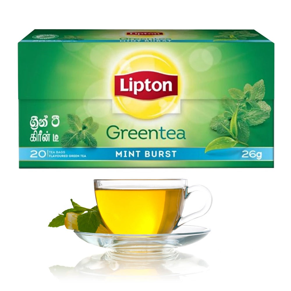Lipton Green Tea Mint  20 Bags