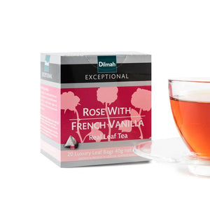 Dilmah Rose with French Vanilla Tea 20  Bags
