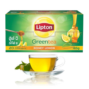Lipton Green Tea Honey Lemon 20 Bags