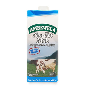 Non Fat Milk 1L - Ambewela