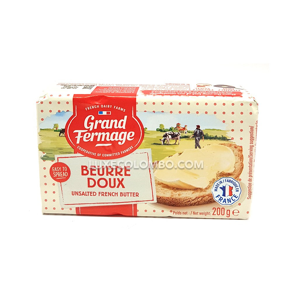 Unsalted French Butter 200g - Grand Fermage