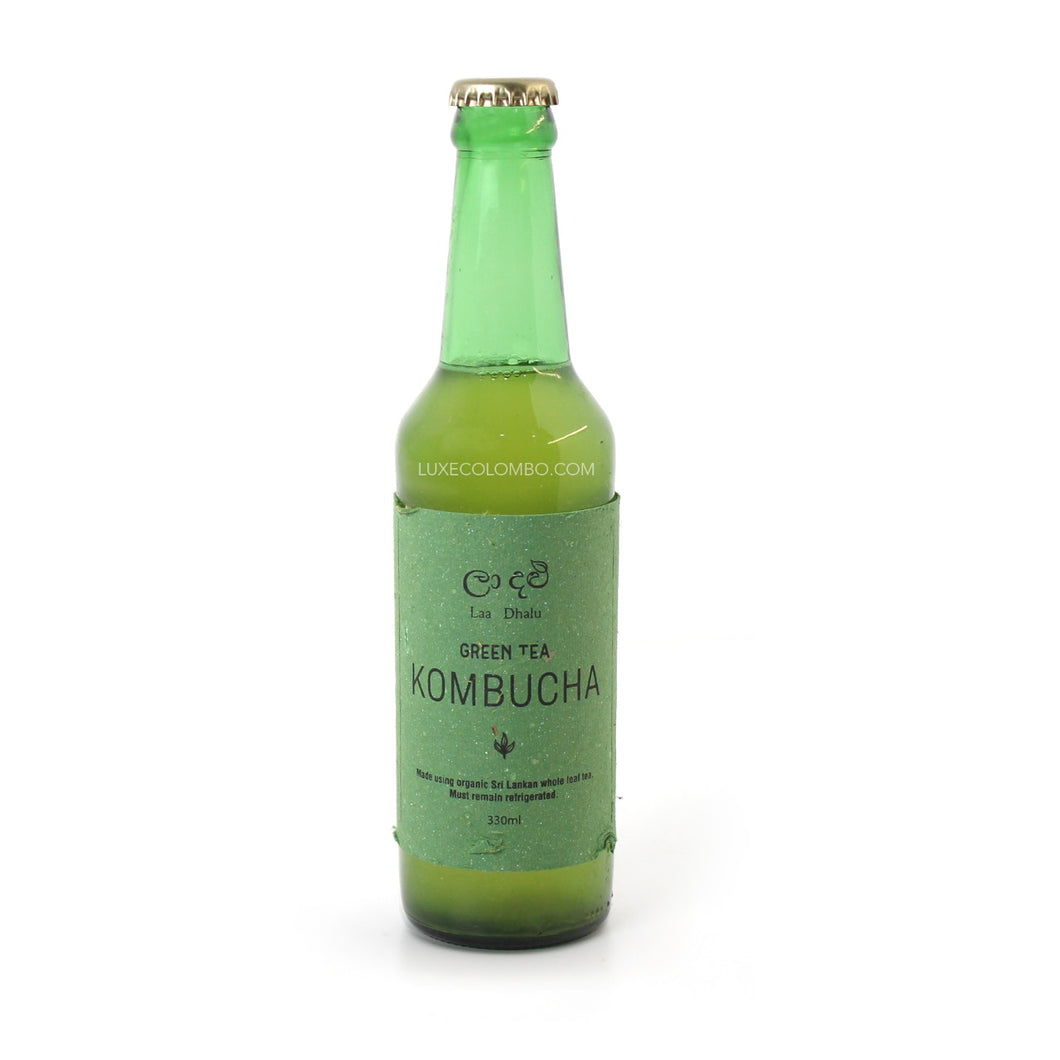 Green Tea Kombucha 330ml - La Dhalu