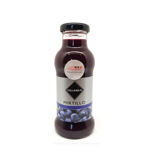 Blueberry Juice Glass Bottle 200 ml
