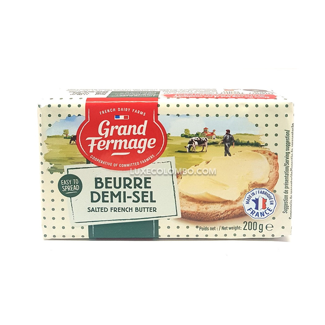 Salted French Butter 200g - Grand Fermage