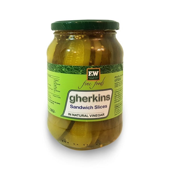 Gherkin Sandwich Slices