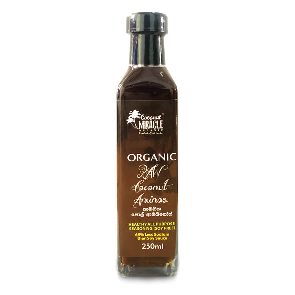 Organic Coconut Amino - 250 ml (Soy Sauce substitute)