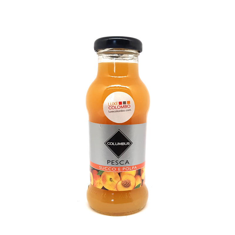 Peach Juice Glass Botte 200 ml