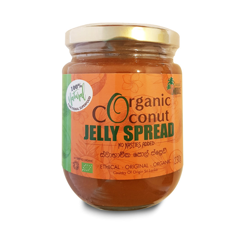 Organic Coconut Jelly Spread Regular 230 g