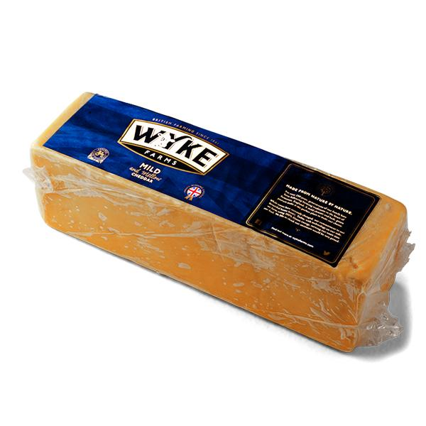 English Red Mild Cheddar 2.5 Kg