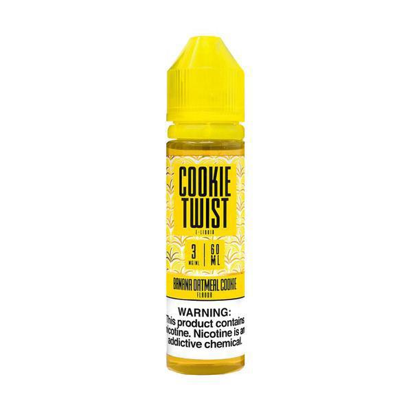 Twist - Banana Amber(Banana Oatmeal Cookie) - 60mL