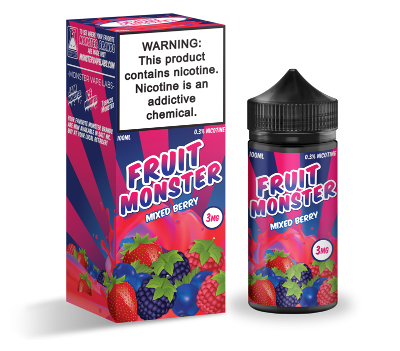 Fruit Monster - Mixed Berry - 100mL