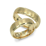 Men's Yellow Gold Wedding Bands