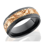 Men's Wedding Bands with Precious Metals