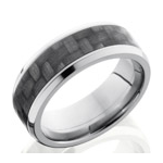 Men's Carbon Fiber Wedding Bands