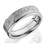 Men's Meteorite Wedding Bands