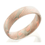 Men's Mokume Gane Wedding Bands