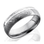 Men's Damascus Steel Wedding Bands