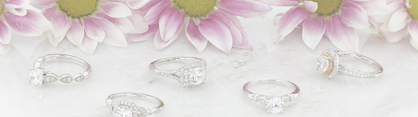 Engagement Rings with Side Stones