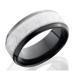 Men's Zirconium Wedding Bands