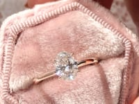 Scottsdale Solitaire Engagement Ring with a Double Four Prong Head (Style 103173)