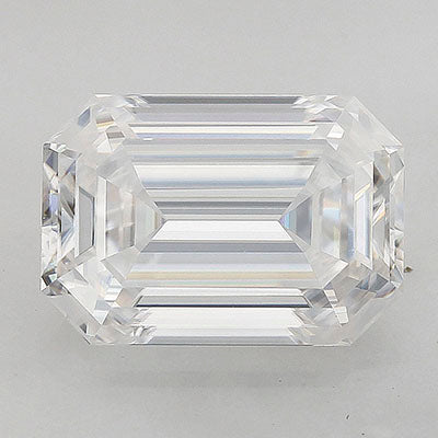 Radiance Brand Premium Moissanite: 1.5ct approx. diamond equivalent (8x5.5mm) elongated emerald cut