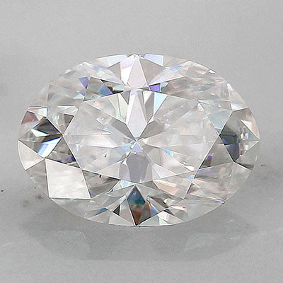 Radiance® Premium moissanite, 1.06ct diamond equivalent (8x5.7mm)