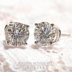 Style 133:  Round Stud Earrings