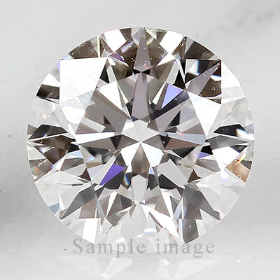 Round Mined Diamonds: Better Quality 1ct total weight
