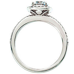 Style 102287-6mm: Round Halo Engagement Ring With Diamonds