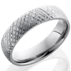 Style 103513: Titanium 6mm Domed Band