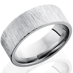 Style 103726: Cobalt Chrome 8mm Flat Band
