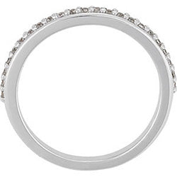 Prong Set Diamond Wedding Band