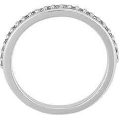 Prong Set Diamond Wedding Band (Style 102224WB)