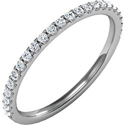 Prong Set Diamond Wedding Band (Style 102236WB)