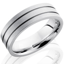 Style 103682: Cobalt Chrome 7mm Flat Band